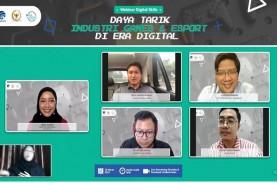 Ada 44,2 Juta Pemain Gim E-Sport di Indonesia