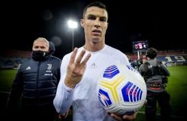 Hasil Liga Italia, Hattrick Ronaldo Bawa Juventus Gasak Cagliari