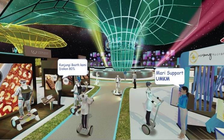 Pekan Raya Virtual - istimewa