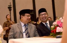 Survei Pilpres 2024: Elektabilitas Ridwan Kamil Mulai Dekati Prabowo