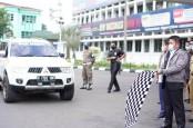Gubernur Sumsel Herman Deru Lepas Tim Jelajah Komoditas Sumatra