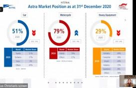Meski Penjualan Februari 2021 Turun, Market Share Astra (ASII) Naik ke 54 Persen