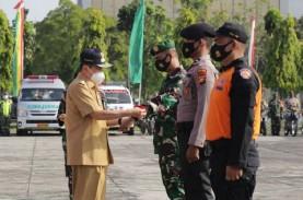 Gubernur Riau Sampaikan Amanat Jokowi di Apel Siaga…