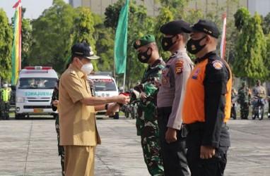 Gubernur Riau Sampaikan Amanat Jokowi di Apel Siaga Karhutla