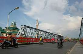 Jembatan Bandar Ngalim Kediri Bakal Diperlebar