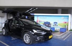 Taksi Tesla di Bandara Soekarno-Hatta, Begini Cara Pesannya