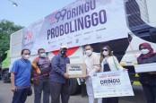 J99 Foundation Salurkan Bantuan Sembako ke Korban Banjir Probolinggo