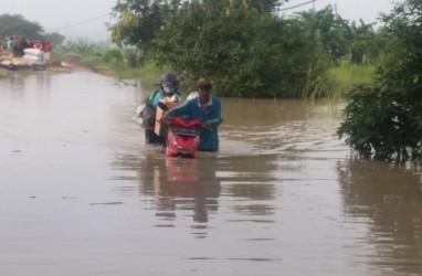 Banjir Luapan Sungai Lamong Genangi 750 Rumah di Gresik
