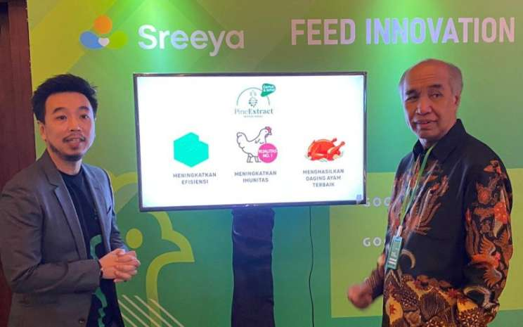 Theo Lekatompessy, Komisaris Independen Sierad Produce (Kanan) dan Tommy Wattimena Direktur Utama Sierad Produce (Kiri). - sieradproduce.