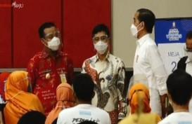 Jokowi Tinjau Festival Smart Vaksinasi di Kota Makassar