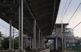 KAI Kembali Tertibkan Bangunan Liar Lintas Pasar Senen - Ancol