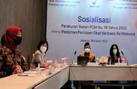 BPOM Dorong Pembuatan Obat Berbasis Sel Manusia