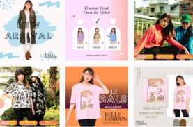 Belle Fashion, Tutup Toko di Tanah Abang Kini Sukses…