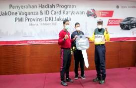 Bank DKI Serahkan Lima Mobil dan Satu Motor Ke PMI Jakarta