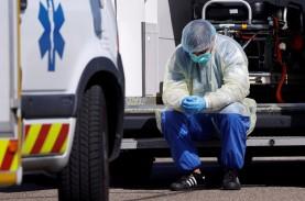 Hadapi Gelombang Ketiga Pandemi, PrancisTerapkan…