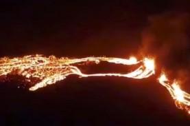 Gunung Api di Islandia Bangun dari Tidur Panjang Setelah…