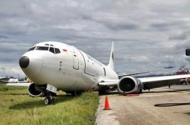 Pesawat Trigana Air Tergelincir, Bandara Halim Perdanakusuma…