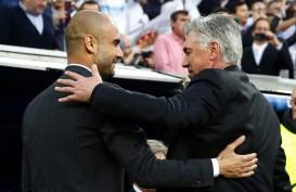 Jadwal FA Cup Everton vs ManCity, Ini Kata Guardiola tentang Ancelotti