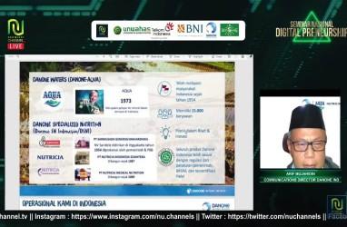 Danone Dukung Program Digital Preneurship Nahdlatul Ulama