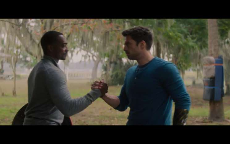 The Falcon and the Winter Soldier.  - Youtube