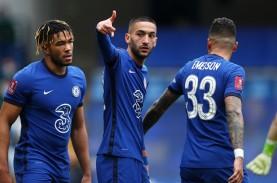 Chelsea Susul Southampton & ManCity Lolos ke Semifinal…