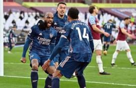 Unggul 3 Gol, West Ham Akhirnya Lepaskan Kemenangan vs Arsenal