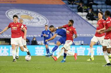Leicester City Gasak Manchester United, ke Semifinal FA Cup