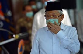 Pagi Ini, Wapres Ma'ruf Amin Tinjau Vaksinasi Covid-19 di Lampung
