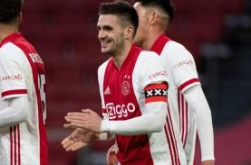 Hasil Liga Belanda : Ajax Bantai ADO, Perlebar Jarak…
