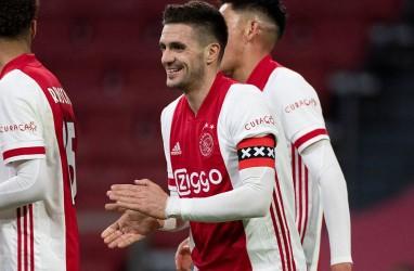 Hasil Liga Belanda : Ajax Bantai ADO, Perlebar Jarak dari PSV