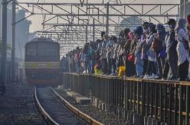 Pengembangan Stasiun KRL Tambun Masih Berlangsung