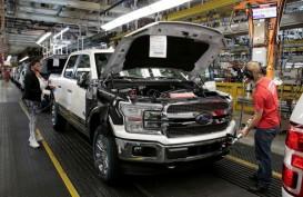 Pasokan Cip Masih Jadi Isu, Ford Pangkas Produksi Mobil