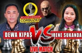 Link Live Streaming Dewa Kipas vs GM Irene Sukandar di Youtube Deddy Corbuzier
