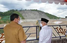 Cek Bendungan Way Sekampung di Lampung, Wapres: Selesai Juli 2021
