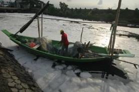 Beberapa Hari Terakhir Sungai Tambak Wedi di Surabaya…