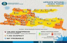 16 Daerah di Jatim Berhasil Jadi Zona Kuning