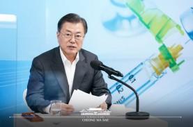 Akhirnya, Presiden Korea Selatan Disuntik Vaksin Covid-19…