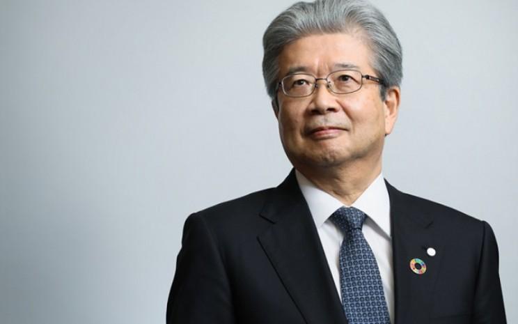 Sunao Manabe, Representative Director, President and CEO Daiichi Sankyo.  - DaiichiSankyo