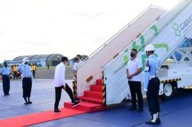 Kunker ke Malut, Jokowi Resmikan Terminal Bandara…