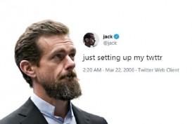 Tweet Pertama Pendiri Twitter Laku Rp41,47 Miliar, Ini Pembelinya!