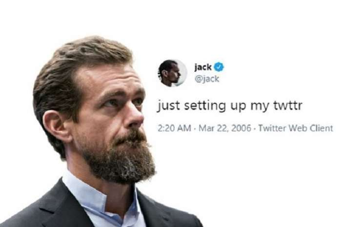 Pendiri Twitter Jack Dorsey melelang tweet pertamanya dan laku senilai US2,9 juta  -  The Pigeon Express