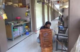 Geliat Pasar Burung Caruban Merosot