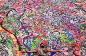 Gila! Lukisan Berukuran 1.800 Meter Persegi Laku Rp892,8…