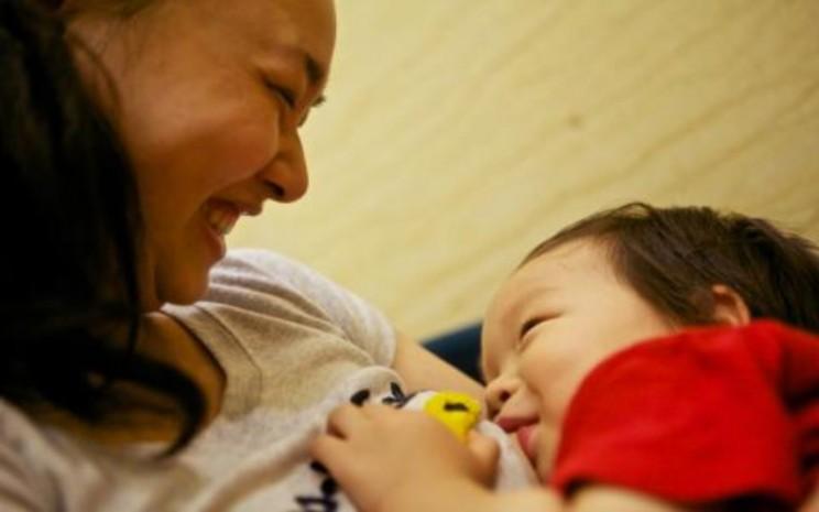 Bayi gemuk. Di Indonesia, sebanyak 2 juta anak balita kelebihan berat badan atau obesitas.  - Unicef