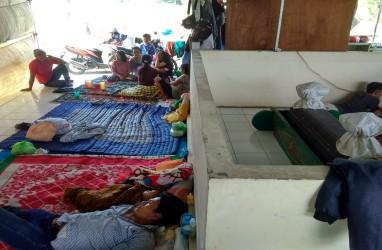 Cerita Warga Cebolok Semarang Mengungsi di Makam Setelah Digusur