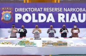 Polda Riau dan Ditjen Bea Cukai Gagalkan Upaya Penyelundupan…