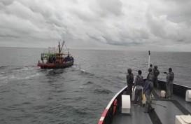 Bakamla RI Tangkap 2 Kapal Pencuri Ikan Asal Malaysia di Perairan Selat Malaka