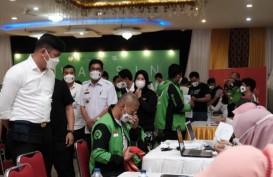 Mitra Gojek di Kabupaten Gowa Ikut Vaksinasi Covid-19