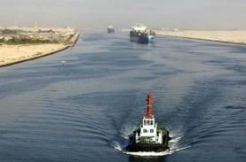 Evakuasi Kapal Kandas di Terusan Suez Belum Tuntas,…