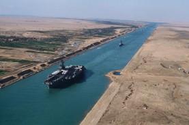 Detik-detik Kapal Raksasa Kandas dan Menutup Terusan…